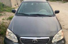Nigeria Used Toyota Corolla 2005 Model for Sale