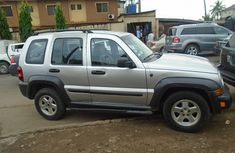 Nigeria Used Liberty Jeep 2007 Model Silver for Sale