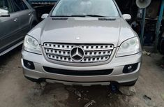 Mercedes Benz ML350 2008 Foreign Used Silver