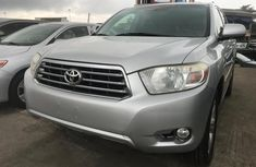 Foreign used Toyota Highlander 2010 Model SUV for Sale