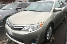 Foreign Used Toyota Camry 2013 Gold Sedan for Sale