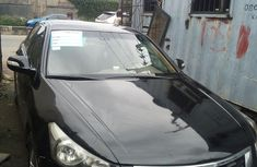 2008 Honda Accord Nigeria Used Black for Sale