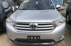 Toyota Highlander 2013 Model Silver Tokunbo for Sale