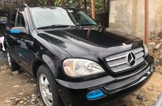 Used Mercedes Benz ML320 Foreign 2003 Model Black