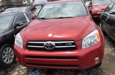 2008 Toyota RAV4 Foreign Used Red for Sale