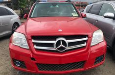 Mercedes Benz GLK350 4MATIC Foreign Used 2010 Model Red