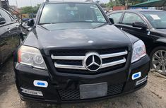 Used Mercedes Benz GLK350 Foreign 2010 Model Black for Sale
