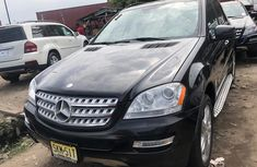 Used Mercedes Benz ML500 Foreign 2010 Model Black