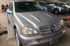 Mercedes Benz ML350 Foriegn Used 2005 Model Silver