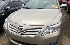 Foreign Used Toyota Camry 2013 Model XLE Sedan Gold
