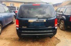 Honda Pilot for Sale in Lagos Tokunbo 2010 Model Blue