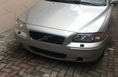 Foreign Used Volvo S60 2006 Model Silver for Sale