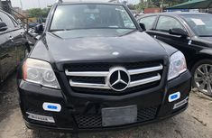 Used Mercedes Benz GLK 2011 Model Black Tokunbo