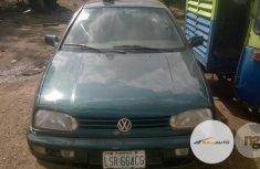 Nigeria Used Volkswagen Golf 2002 Mode Green
