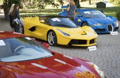 25 supercars worth ₦9.8 billion seized from son of Equatorial Guinea's president get auctioned