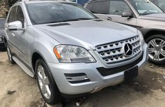 Mercedes Benz ML350 2011 Model Silver Tokunbo