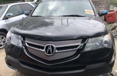 Acura MDX 2008 Model Foreign Used Black COlour