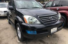 2006 Lexus GX 470 Tokunbo Black Jeep in Lagos