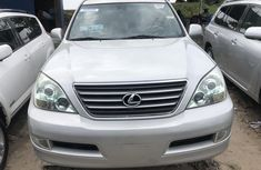 2007 Lexus GX 470 Tokunbo Silver Jeep in Lagos