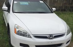 2007 Honda Accord Foreign Used White Sedan