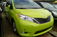 Toyota Sienna 2014 Model Foreign Used Minibus