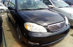 Toyota Corolla for Sale in Lagos 2005 Black Tokunbo