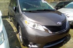 Toyota Sienna 2012 Model Gray Colour for sale