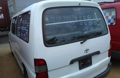 Toyota Hiace 2003 Model Foreign Used White Bus
