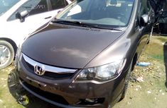 Honda Civic 2009 Model Foreign Used Black Sedan