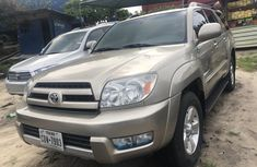 2005 Toyota 4Runner Foreign Used Gold