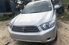 Toyota Highlander SUV Foreign Used 2008 Model Silver