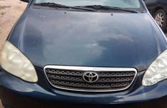 Foreign Used Toyota Corolla 2000 Blue