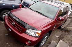 Foreign Used Toyota Highlander 2006 Automatic