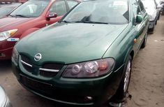 Foreign Used Nissan Almera 2005 Model Green