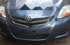 Foreign Used Toyota Yaris 2007 Model Blue