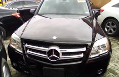 Mercedes Benz GLK 350 2010 Foreign Used Black Jeep