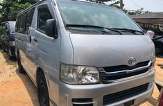 Toyota Hiace Bus Foreign Used Silver 2009 Model