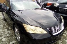 Used Lexus ES 350 Black Foreign Used 2007 Model