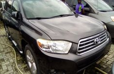 Toyota Highlander SUV Foreign Used 2009 Model Black