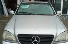 Nigeria Used Mercedes-Benz ML 320 2003 Model Silver
