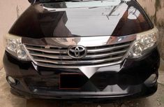Nigeria Used Toyota Fortuner 2013 Model Black