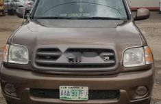 Nigeria Used Toyota Sequoia 2005 Model Brown