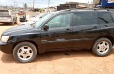 Nigerian Used Toyota Highlander 2006 Petrol Automatic Black