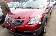Tokunbo Pontiac Vibe 2007 Model Red