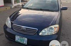 Nigeria Used Toyota Corolla 2002 Blue