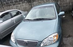Foreign Used Toyota Corolla Green 2006 Model for Sale