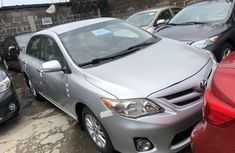 Toyota Corolla for Sale in Lagos Silver Tokunbo 2011 Model