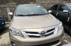 Toyota Corolla for Sale in Lagos Foreign Used 2011 Gold