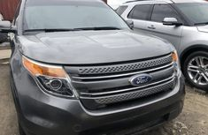 Ford Explorer 2012 Model Foreign Used Grey