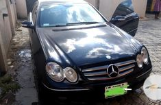 Nigeria used Mercedes-Benz CLK 2009 350 Coupe Black